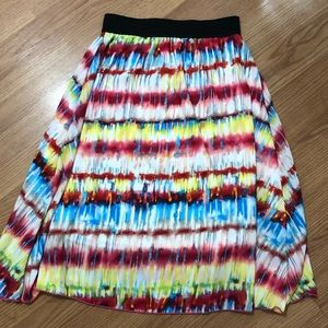 Lularoe Lola Skirt XS Colorful